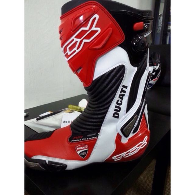 TCX Ducati Corse 13 Racing Boots, Sports on Carousell