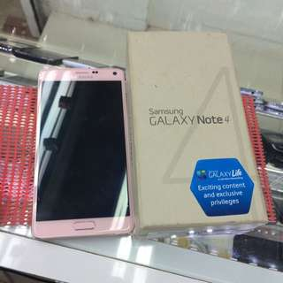 Used Samsung Note 4 Pink