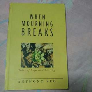 When Mourning Breaks By Anthony Yeo