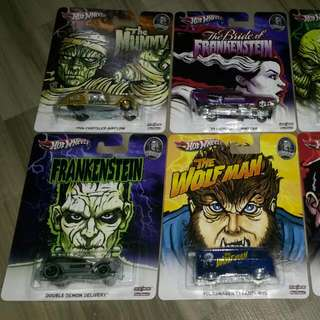 Hotwheels Monster Edition Complete 6 Pieces Sets