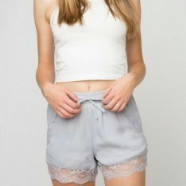 Authentic Brandy Melville Dorothy Lace Shorts