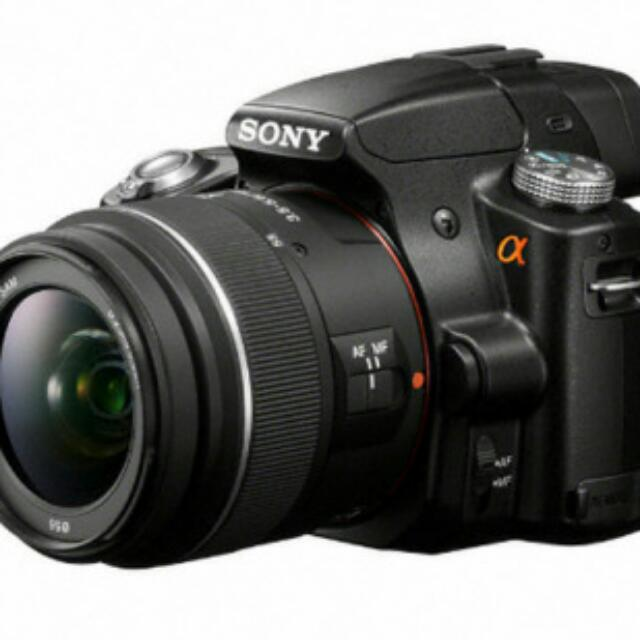 Sony Alpha SLT-a35 16 MP Digital SLR Kit with Translucent Mirror Technology and 18-55mm Lens + Free 1.8/50 SAM Lens