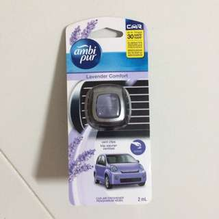 BNIB Ambipur Car Air Freshener (2ml) Lavender Comfort Scent
