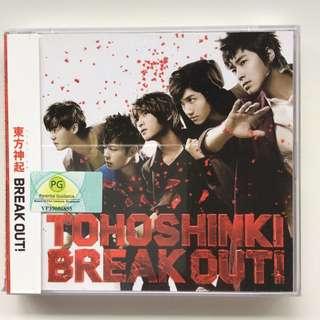 DBSK/Tohoshinki Break Out! Album Single