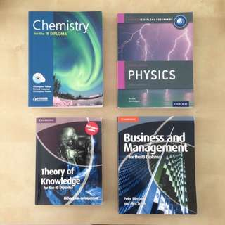 IB Textbooks Cambridge/Oxford