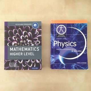 IB Textbooks Oxford/Pearson