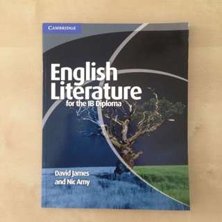IB Textbook, English Literature