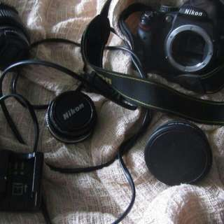 Nikon D5000 at $750(nego) incld Wide Lens & ND8 Filter