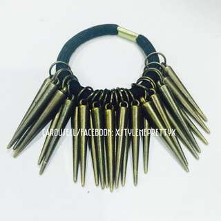 Bronze Spike Hairband