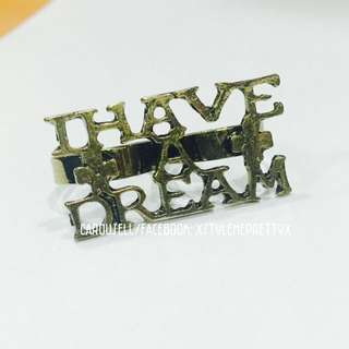 """I Have A Dream"" Connector Ring"