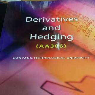 NTU AC3102 Consolidated Financial Statements (Derivaties and Hedging)