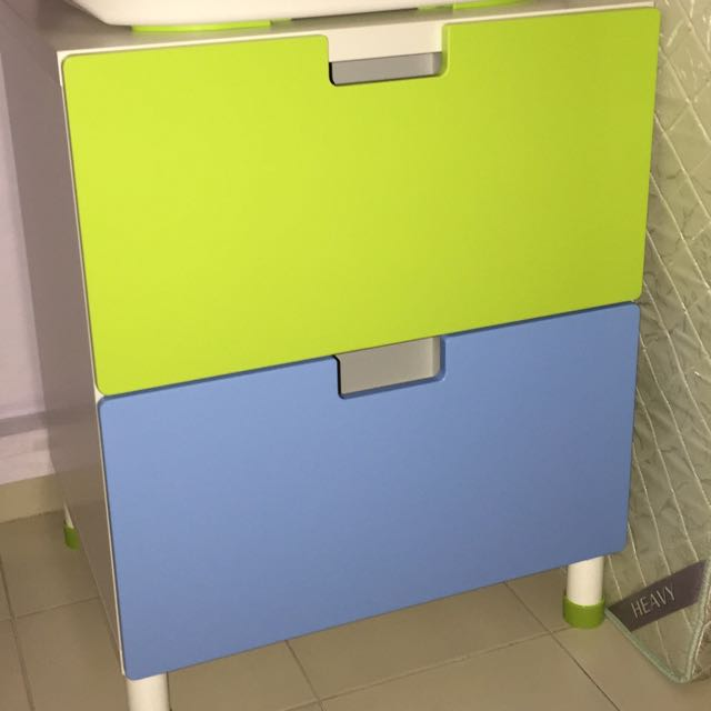 ikea stuva malad kids drawer free used ikea baby bathtub moving out babies kids on carousell. Black Bedroom Furniture Sets. Home Design Ideas