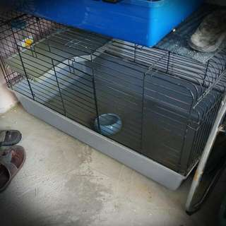 Pet Cage with Accessories