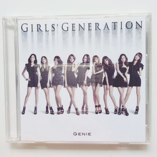 Girls' Generation / SNSD Genie Japanese Album