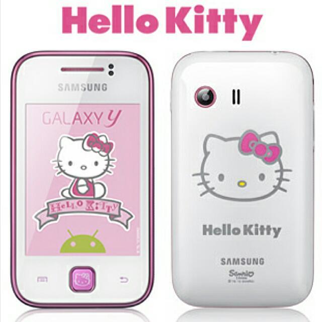 d0a1310cc6815 Samsung Galaxy Hello Kitty Phone Ltd Edition , Electronics on Carousell
