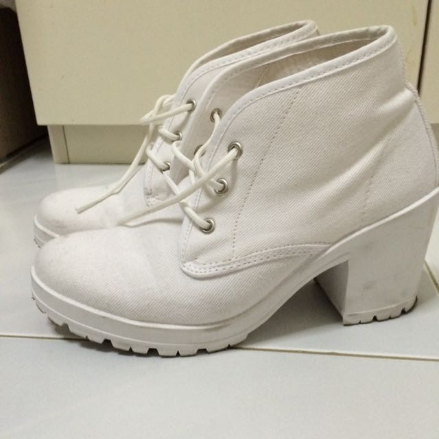 Topshop Laced Up Boots
