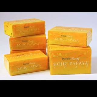 Free Delivery. S$9.50 Royale Beauty Kojic Papaya Soap 130g