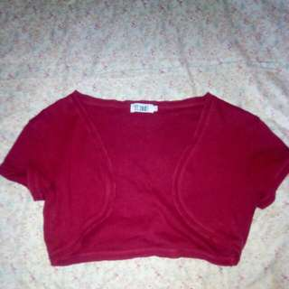 Mini Cardigan Red Color