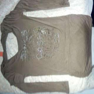 Hot Shirt Brown Color