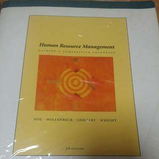HP8005 Introduction To Human Resource Management (5th Ed)