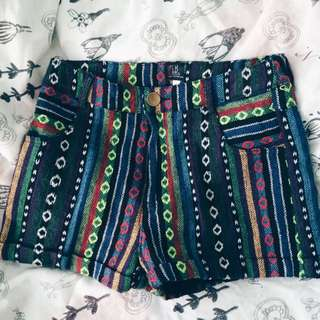 BN Tribal HW Shorts From LRH