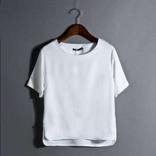 White Boxy Top PENDING