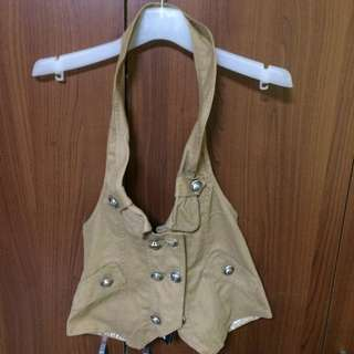 🆕 Brown Vest