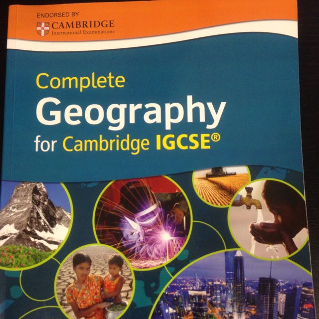Geography For Cambridge IGCSE  Oxford