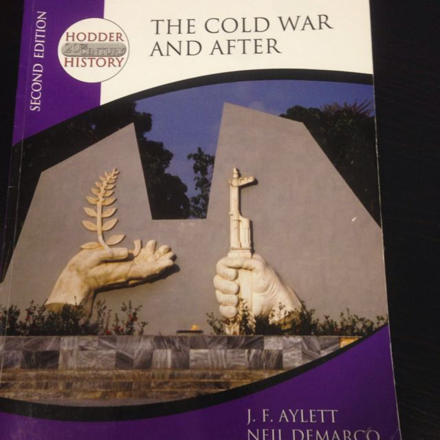 History-The Cold War And After Second Edition