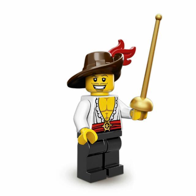 Lego Minifigures Series 12 (71007) Swashbuckler