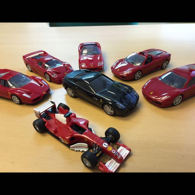 Miniature Ferrari And Porche Cars On Carousell