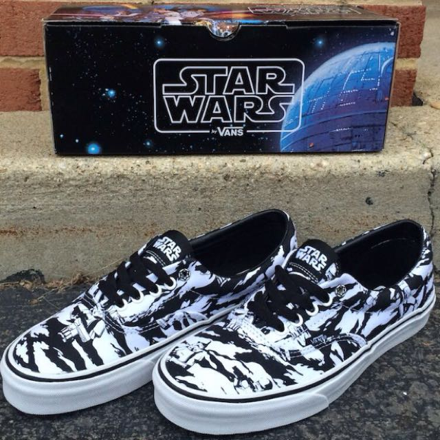 d47eb5fc23571f Star Wars X Vans Era Dark Side Storm Camp Shoes