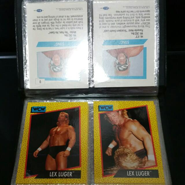 WCW Trading Cards (Impel)