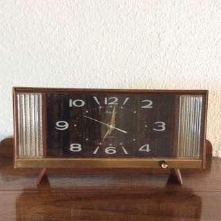 Rare Antique Rhythm Music Alarm Clock