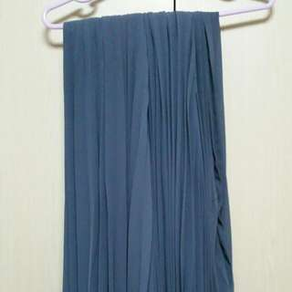 Cloud9 Pleated Long Skirt