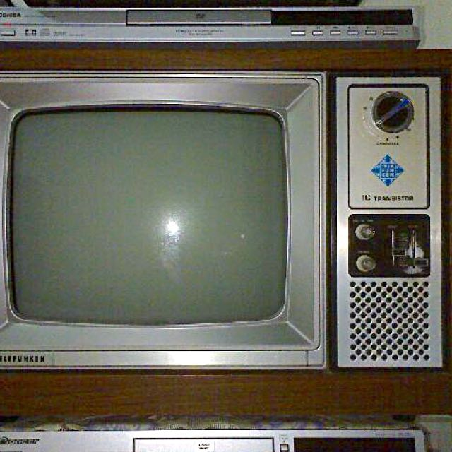Telefunken Black & White TV, Vintage & Collectibles on Carousell