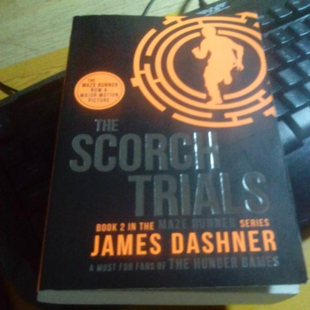 The Scorch Trials James Dashner Books Stationery On Carousell