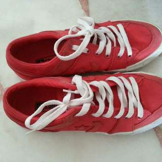 Converse Red Sporty Shoes