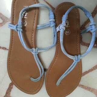 Rubi Jeans Material Slip In Shoes