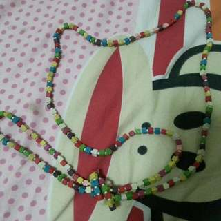 Colourful Blocks Necklace
