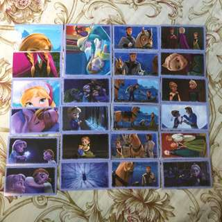 Frozen Cards (stickers)