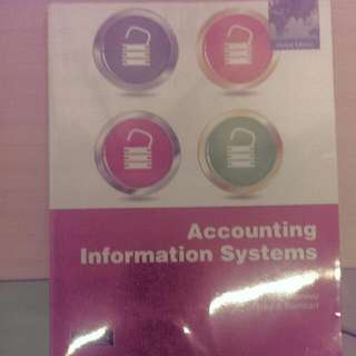 [Pending] AC2401 Accounting information system textbook