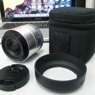 Sigma 19mm f/2.8 DN Lens for Sony E-mount Cameras (Silver) with unfill warranty