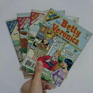 Betty And Veronica Archie Comics