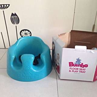Bumbo Floor seat & tray With Safety Buckle