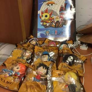 LAST SET!!! One Piece Figurines Full Collection!!