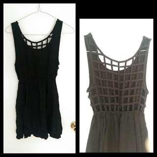 Lattice-back Beach Dress