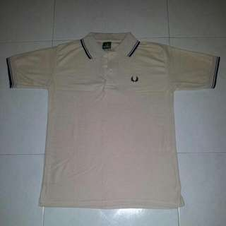 Fred Perry Beige Polo