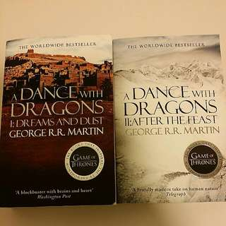 GoT: A Dance with Dragons