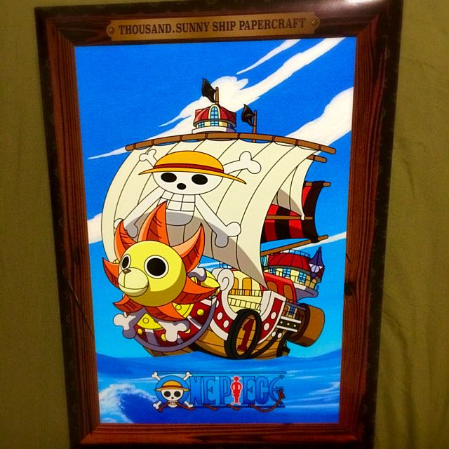 McDonald's One Piece Thousand Island Sunny Ship